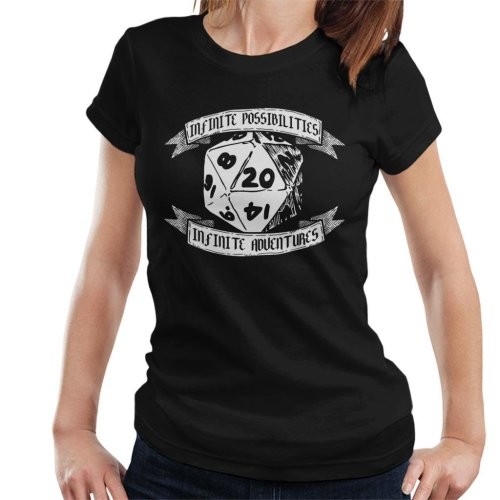 Infinite Possibilities Infinite Adventure Women's T-Shirt