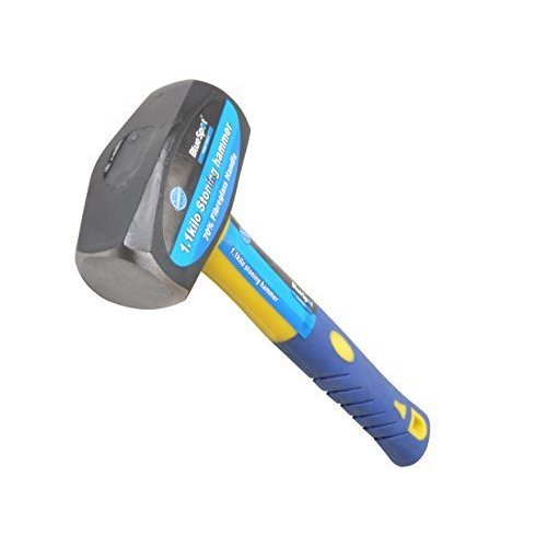 B/s Fibreglass Club Hammer 2.5lb 26200 -  hammer club fibreglass 212lb 113kg bluespot tools handle 26200