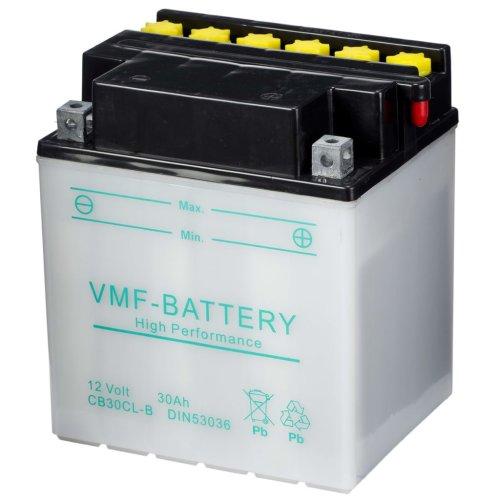VMF Powersport Battery 12 V 30 Ah CB30CL-B Long-lasting Workhorse Motorcycle