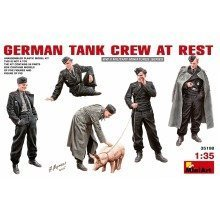 Min35198 - Miniart 1:35 - German Tank Crew at Rest