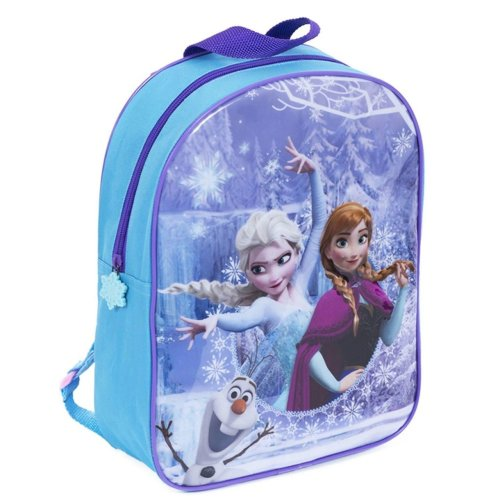 380bd6744cf Disney Frozen Backpack Anna Elsa Olaf Junior School Bag on OnBuy