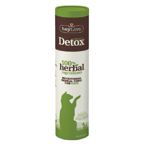 HeyLove Natural Detox Nutritional Herbal Tonic for Cats 480ml