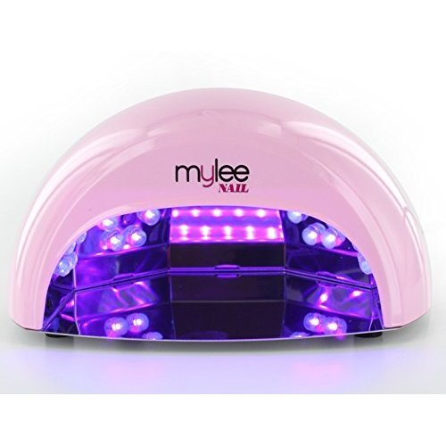 Mylee High Quality LED Lamp 5-finger 12 Watt Dome Lamp, Cures Gel Polish in seconds with 15, 30 and 60 Second Timer. Features a Removable Magnetic...
