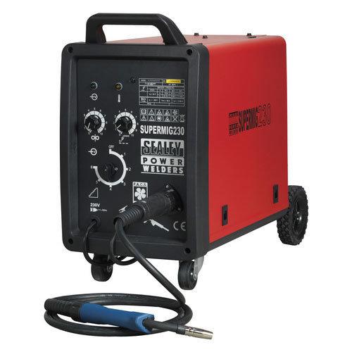 Sealey SUPERMIG230 230Amp Professional MIG Welder with Binzel Euro Torch