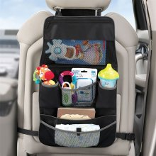 Lindam Child Backseat & Pushchair 2-in-1 Baby Travel Organiser Zip Close Storage
