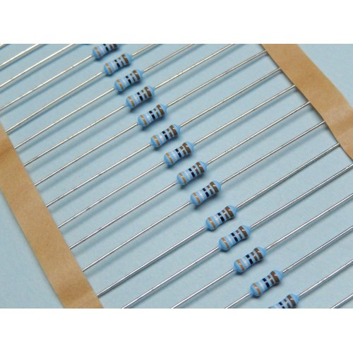 0.6 Watt Metal Film Resistors MRS25 3.9K OHM PACK of 100
