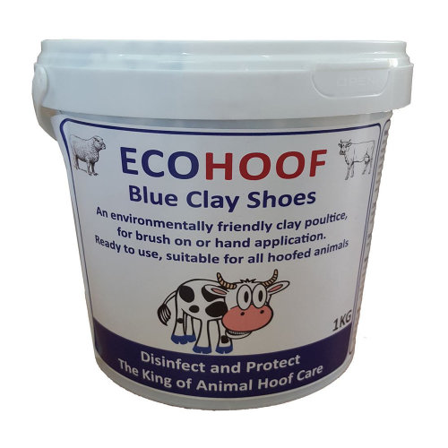 EcoHoof Equine Horse Pink Hoof Clay/Blue Clay Shoes for Sore Hooves