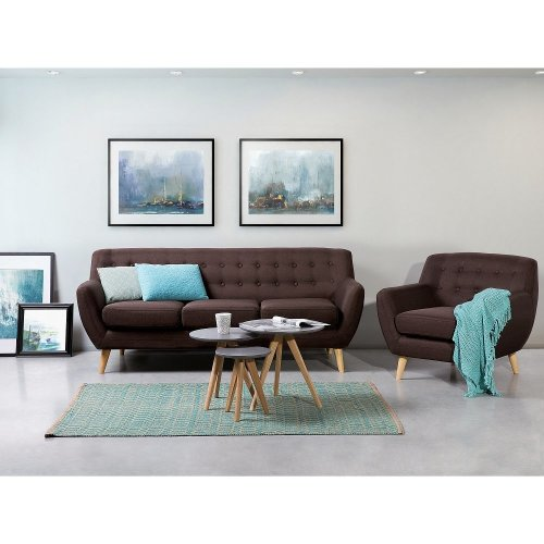 Tufted 3 Seat Sofa - MOTALA