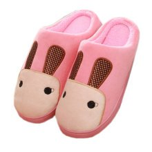 Warm & Cozy Womens Indoor Plush House Slipper, Pink