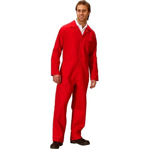 "Click CFRBSRE36 Flame Retardant Boiler Suit Royal Red 36"""