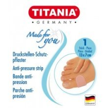 Anti Pressure Strip Foot Plaster - Titania Anti Pressure Strip Toe Foot Plaster Support Foot Health Hygiene