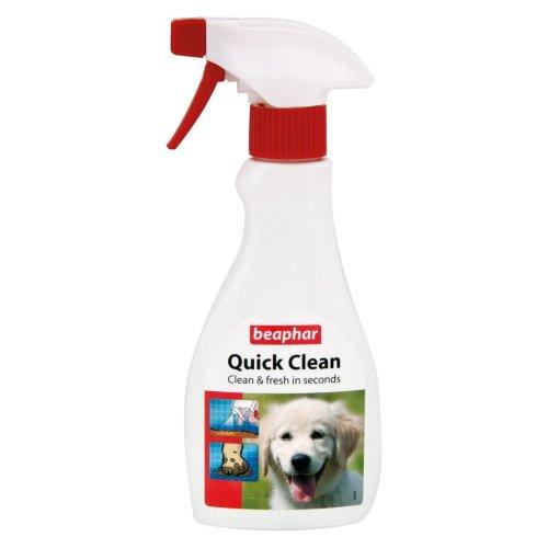 Beaphar Dog Coat Quick Clean Deodoriser 250ml Trigger (Pack of 6)