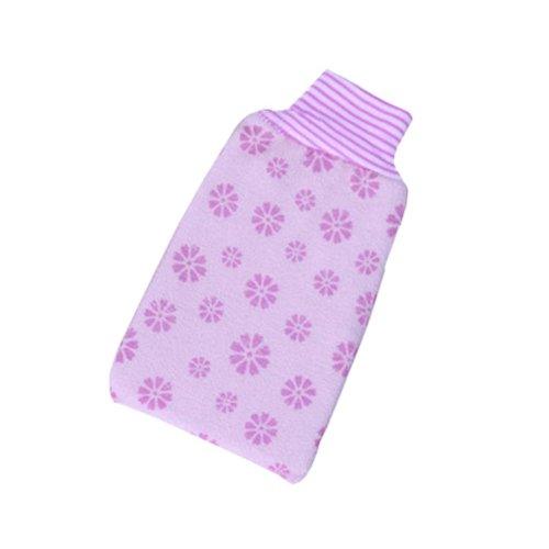 Printing Single Bath Towel Exfoliating Rubbing Towel,Purple