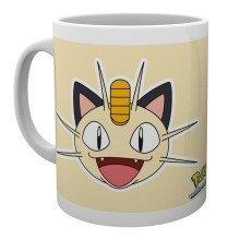 Pokemon Meowth Face Mug
