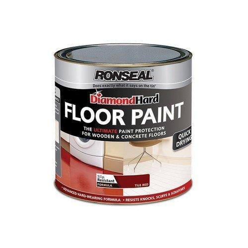 Ronseal 35753 Diamond Hard Floor Paint White 2.5 Litre