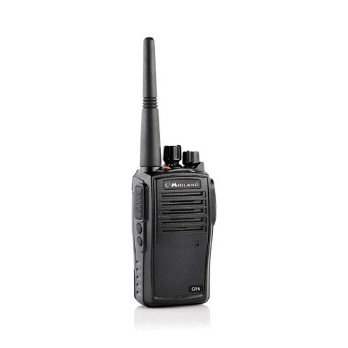Portable PMR radio station Midland G15 waterproof IP67 Code C1127