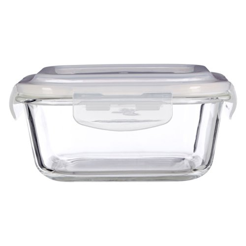 Freska 800 ml Glass Container, Clear