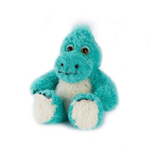 Warmies Dinosaur Turquoise Heatable Plush Animal Microwaveable Soft Toy Cozy
