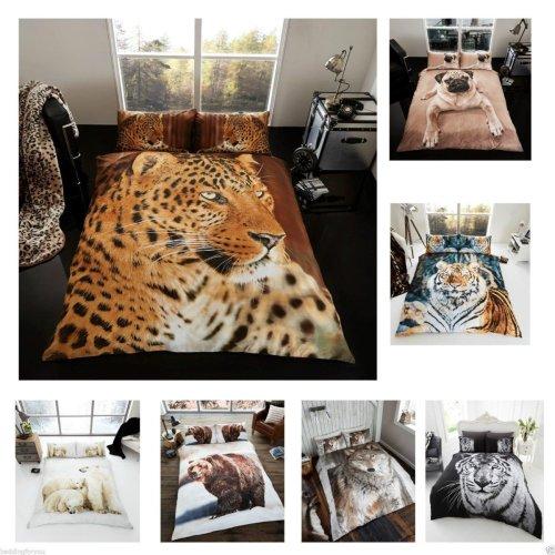 3D Animal Fur Blanket Sofa Throw Extra large King Size 200 x 240cm