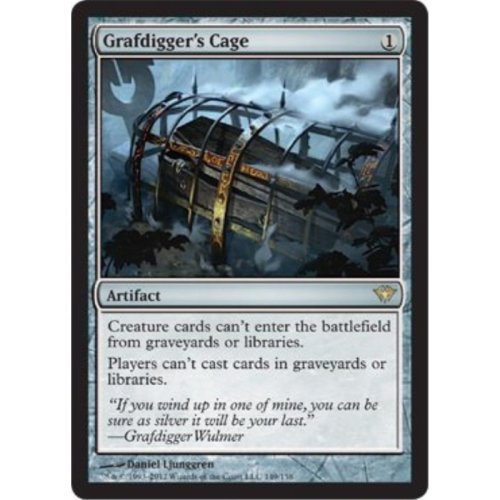 Magic the Gathering Grafdigger s Cage 149 Dark Ascension