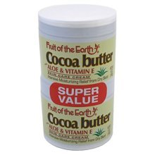Fruit of the Earth Cocoa Butter 4 oz. + 4 oz. Jars