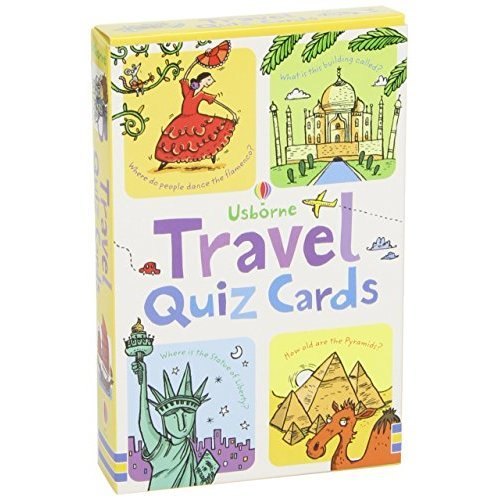 Travel Quiz (Usborne Quiz Cards) (Activity and Puzzle Cards)