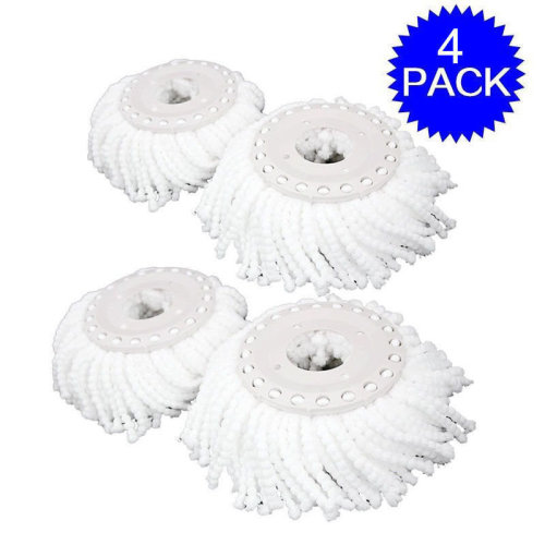 4 x Replacement Mop Micro Head For 360¡ã Spin Magic Mop