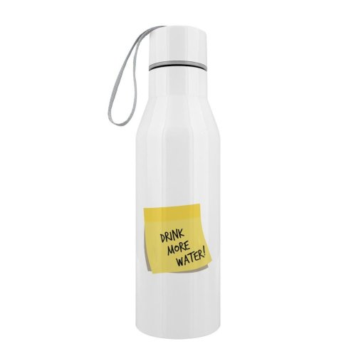 Grindstore Drink More Water Stainless Steel Water Bottle