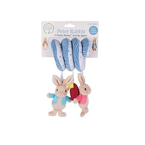Rainbow Designs - Peter Rabbit and Flopsy Bunny - Activity Spiral