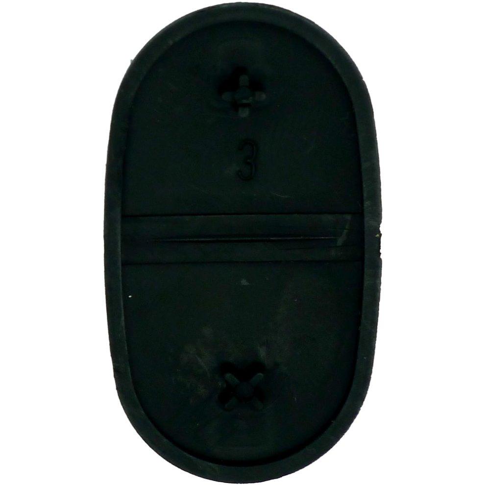Fits Audi A2 A3 A4 A6 A8 TT 2 Button Key Fob Case Remote Rubber Buttons  repair