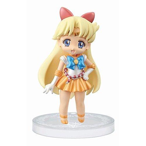 Banpresto Sailor Moon 2.4-Inch Crystal Collectable Figure for Girls Sailor Venus Figure, Volume 2