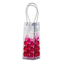 Wine Cooler Bag with Handles - Hot Pink