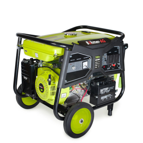Electric Key Start Petrol Generator 9.5KW 11.5kVA 16HP 7000K-e - Böhmer-AG