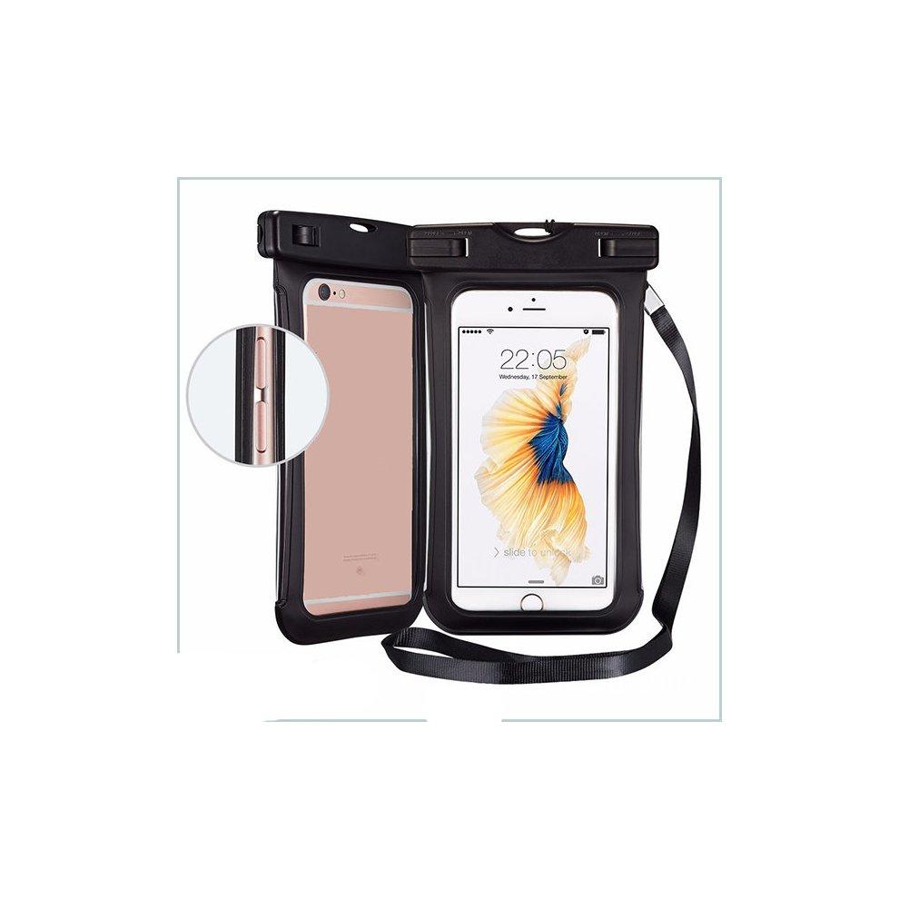 Casual 6inch Waterproof Phone Bag PVC Durble Beach Drift