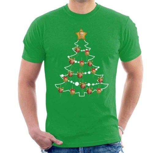 f8cdcaf0b Nigel Farage Christmas Tree Baubles Men's T-Shirt on OnBuy