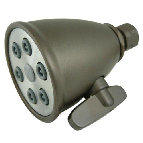 Kingston Brass K138A5 6 Spray Nozzles Power Jet Shower Head - Oil Rubbed Bronze