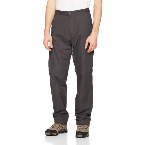 Craghoppers SmartDry C65 Men's Outdoor Winter Lined Trouser available in Black Pepper - Size 32 Regular