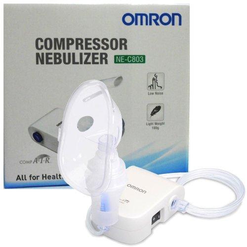 Omron NE-C803 Quiet Compressor Adult Child Lower Airways Respitory Nebulizer NEW