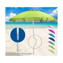 GiraFacile® Beach Parasol UV Protection Windproof HERMES