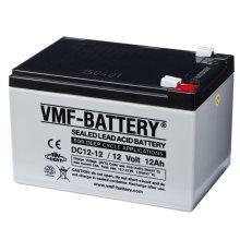 VMF AGM Deep Cycle Battery 12 V 12 Ah DC12-12