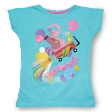 Inside Out T Shirt - Fun Turquoise