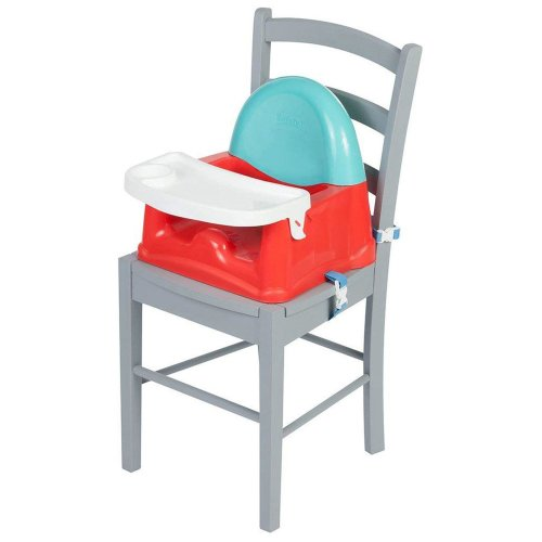 Safety 1st Easy Care Swing Tray Booster - Red Lines