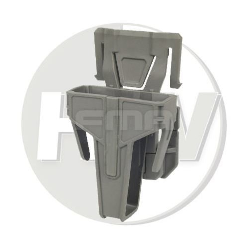 Airsoft Fma Nylon Fsmr Locking Magazine Pouch For M4 5.56 Molle Type Fg Green