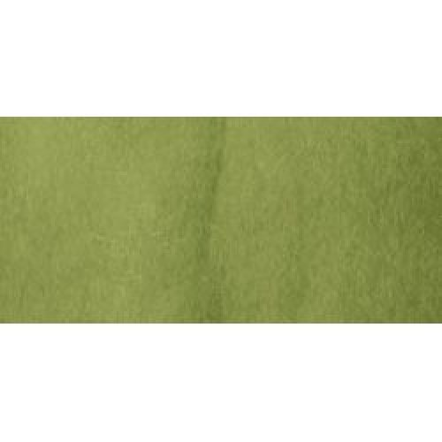 Clover Natural Wool Roving .3oz-Moss Green
