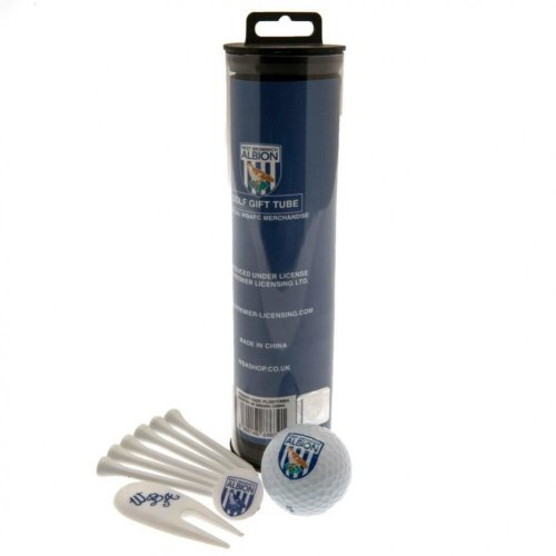 West Bromwich Albion FC Official Golf Gift Tube