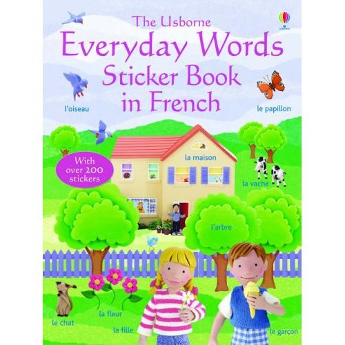 Everyday Words in French (Everyday Words Sticker Books)