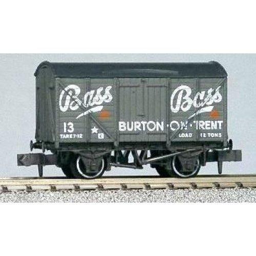 Box Van Bass #13 Grey - N gauge wagon Peco NR-P131 free post
