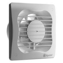 Xpelair 93224AW 4-Inch Standard Bathroom Ventilation Wall/Ceiling Extractor Fan - White
