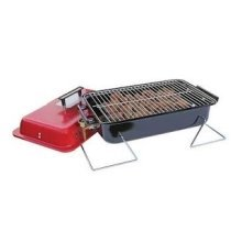 Portable Camping Gas Bbq with Lava Rock