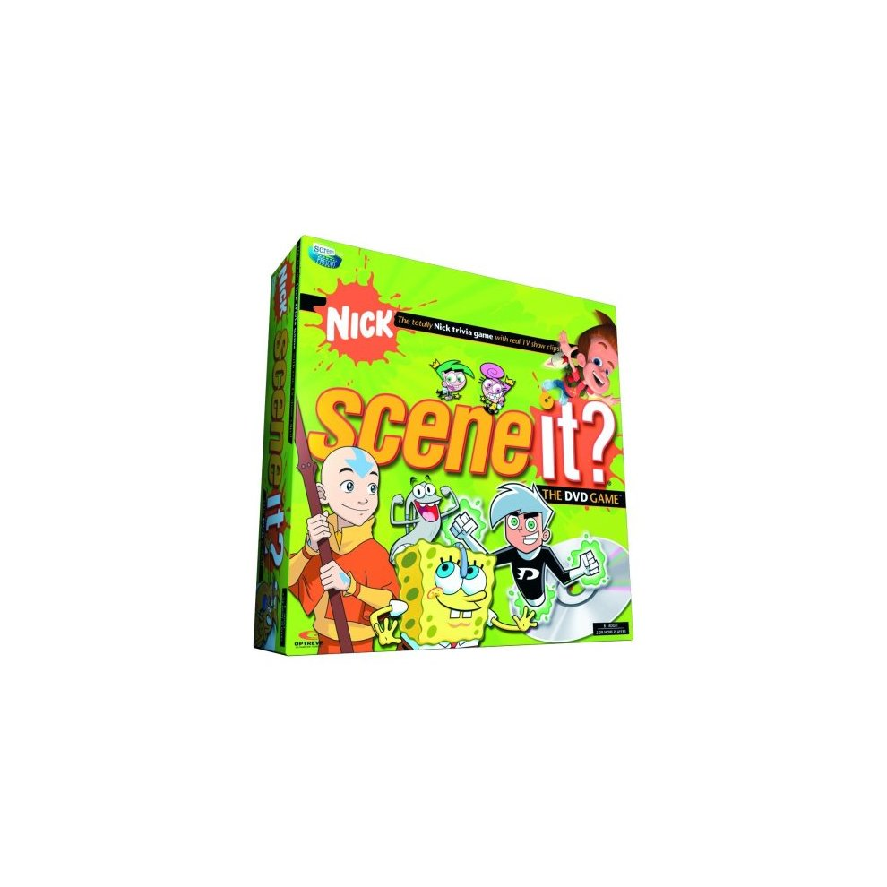 Scene It? Nickelodeon Edition DVD Game